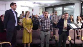 Părtășie cu Tinerii din Stuttgart: Tu te-ai plecat Isuse lângă mine
