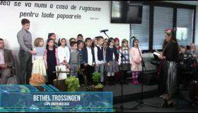 Copii grupa mijlocie Ziua multumirii 2018