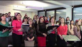 Ajunul Craciunlui 2017: Corul  - Cintec pentru binecuvintare