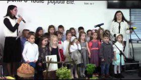 Copii grupa mica Ziua multumirii 2018