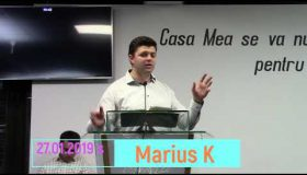 Predica Marius Krumbacher